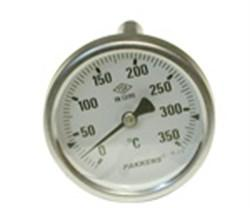 Thermometer with Copper 60-350 Degree